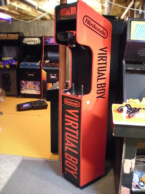 Mueble arcade para Virtual Boy