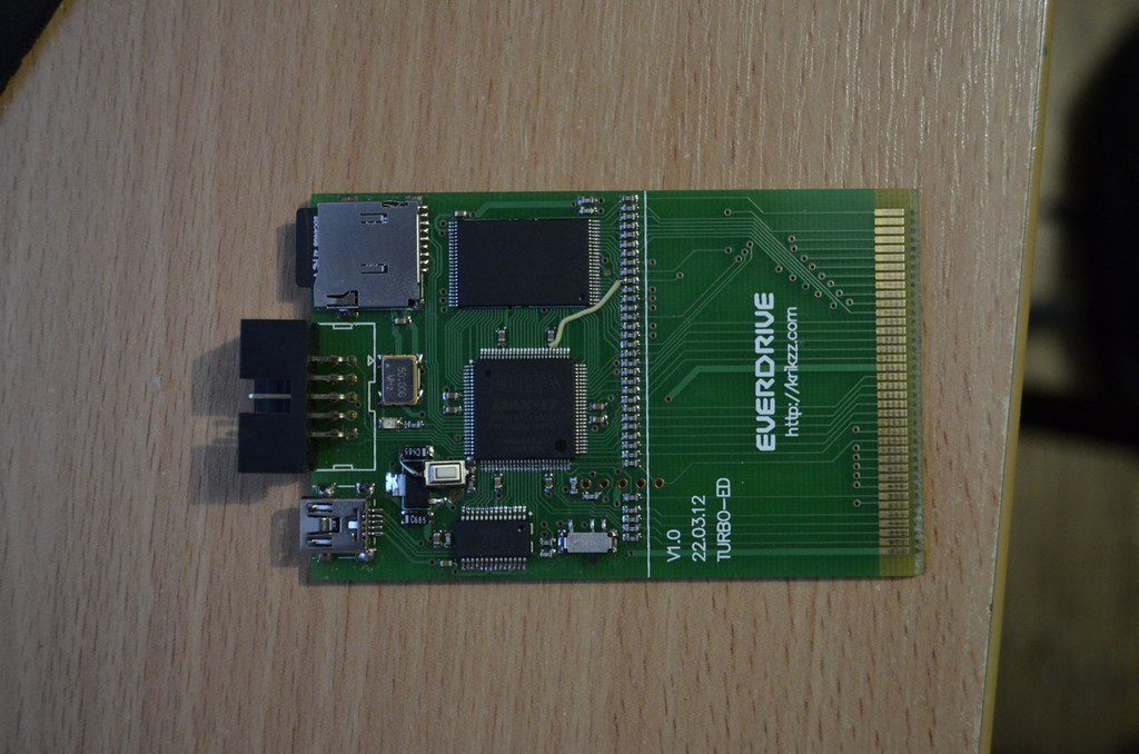 Everdrive para PC Engine
